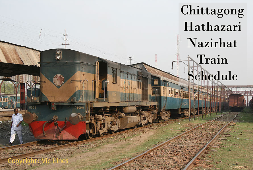 Chittagong Nazirhat Train Schedule