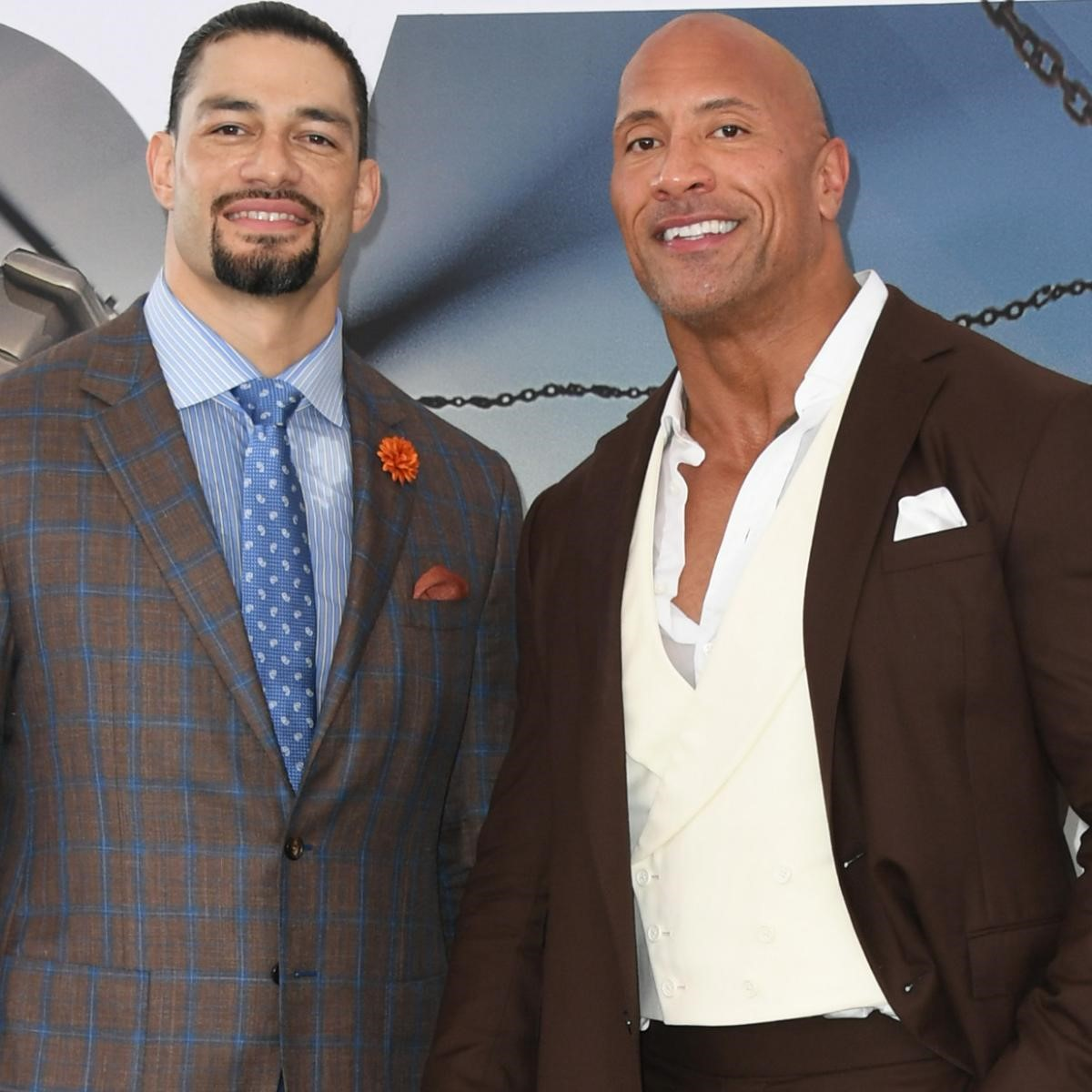 Roman Reigns & The Rock ; source:wikipedia