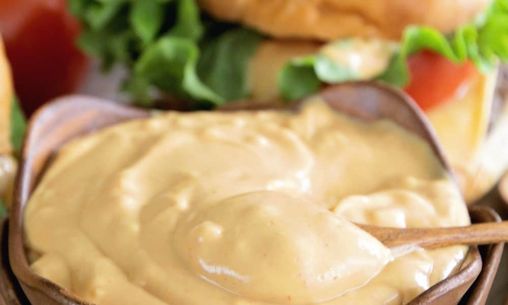 Restaurant style burger sauce